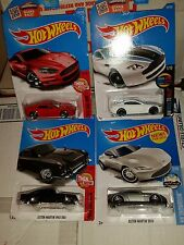 HOT WHEELS Aston Martin DB Lot of 4 Variants Red, White, Black and Silver
