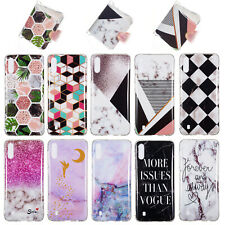 Soft Silicone Marble TPU Phone Case Cover For Samsung J2 J4 Core M10 M20 S10 A8S