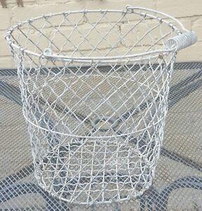 Vintage Heavy Wire (Potato Buckets) Waste Paper Basket / Bin -Agricultural -28cm