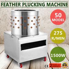 New 50s Turkey Chicken Plucker Plucking Machine Poultry De Feather Usa