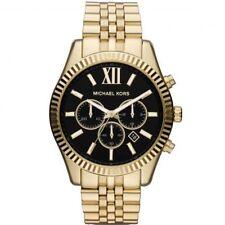 Orologio Uomo Michael Kors Lexington MK8286 Cronografo in Acciaio Dorato