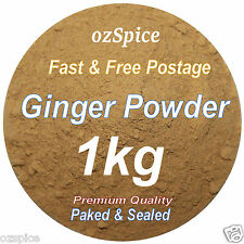 Ginger Powder 1kg - Herbs Teas Chillies & Spices - ozSpice