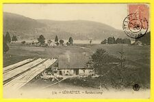 cpa Lorraine 88 - GÉRARDMER (Vosges) RAMBERCHAMP Ferme Blanchisserie Lac en 1906