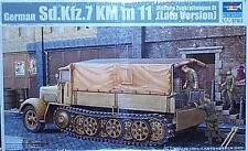 Trumpeter 1/35 Sd.Kfz.7 KM m 11  Zugkraftwagen 8t Late Version Half Track 1507
