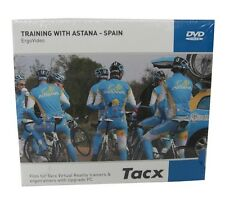 Tacx Real Life Video DVD Training with Astana Spain for Virtual Reality Trainer