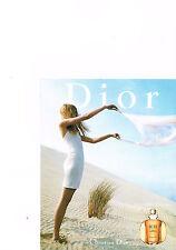 PUBLICITE advertising  2000   DIOR   parfum Dune pour femme