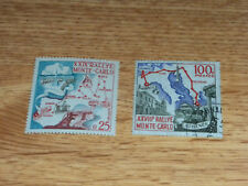 One MNH & One Used. Monaco Auto Stamps #460 and #437