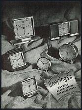 1940s Old Vintage 1948 Corcelles Looping Alarm Clock Photo Paper Print Ad