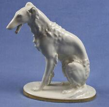 windhund barsoi Figur älteste volkstedt porzellanfigur porzellan borzoi 1931