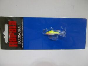 "Rapala Jigging Rap W2 fishing lure  1/8 oz   1-1/4"" long Choose your colors! NIP"