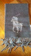 Polo Ralph Lauren Men's Scarf Windsor Heather Reversible