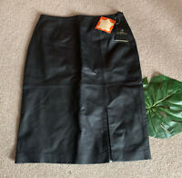 Modern Classics Genuine Leather Pencil Skirt UK12 NEW WITH TAGS