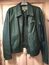 mens armani leather jacket