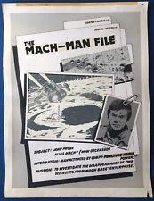 More details for 2000 ad - the mach-man file: sci-fi special 1978 - original comic art. goring.