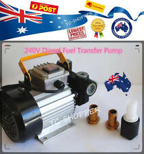 240V 55L/min Diesel Biodiesel Fuel Transfer Pump Heavy Duty