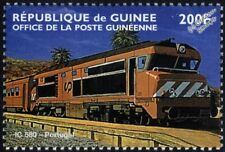 Portuguese Railways (CP) Class 1930 Diesel-Electric Locomotive Train Stamp