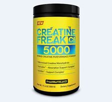 PharmaFreak CREATINE FREAK 5000 Unflavored with Astralagus Ginseng 100 Servings