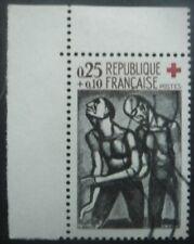 FRANCE-1961-Croix rouge N°1324 oblitéré