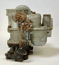 1941-47 Hudson Carburetor Carter 502S Old Rebuild