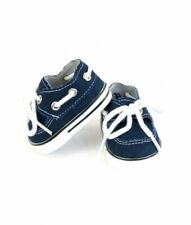 SNEAKERS NAVY BLUE FOR 15 18 in AMERICAN GIRL BOY DOLL OTHER 18in DOLLS  SHOES