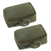 2pcs Oxford Cloth Molle Belt Pouch Hanging Waist Pack Tactical Accessory Bags