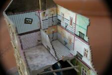 Bomb damaged house, for N-Gauge for model railway by Pola, made in W Germany.