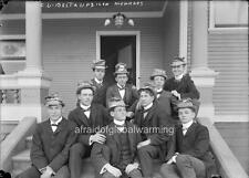 Photo 1890s Univ Calif Berkeley Delta Upsilon Brothers