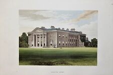 Bishops Court N. Ireland Antique Topographical House Print, Morris Country Seats