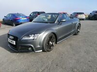 AUDI TT 2.0 TFSI+2013+BLACK EDITION+S-LINE+ROADSTER+CONVERTIBLE+210BHP