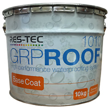 Resin Base coat GRP 1010 Fibreglass Roofing for Flat Roofs , By Restec