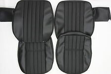 PORSCHE 911  SEAT COVER SET  W/ BASKET WEAVE GERMAN  VINYL FROM 1969 TO 1971