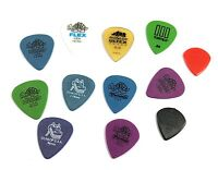 Dunlop Guitar Picks 12 Pack Variety for Electric Guitar Ultex Tortex Gator Grip