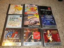 9 Different Game Playstation 1 PS1 JAPANESE IMPORT PAL Tomb Raider Gran Turismo
