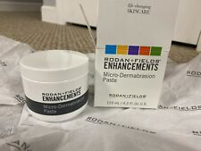 Rodan + and Fields ENHANCEMENTS Micro Dermabrasion Paste Jar 4.2 oz NEW SEALED