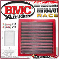 FILTRO DE AIRE BMC RACE LAVABLE FM104/01 DUCATI MONSTER 400 CARBURATORI 2002