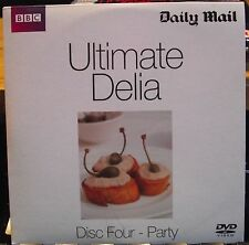 Delia Smith ULTIMATE DELIA Disc Four - Party  BBC Promo DVD