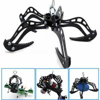 "Black 8"" Extra Large Mantis Claw Drone Recovery Claw Hook Grabber Kit DIY System"
