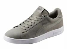 New Puma Smash V2 Mens 14 Rock Ridge Grey Green Suede Sneakers Shoes 36498908