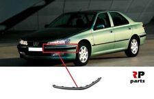 Pour Peugeot 406 99-04 Avant Pare-Choc Bordure Avec Chrome Gauche N/S