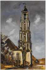 KLAUSEWITZ: ORIGINAL ACRYL GEMÄLDE AUF LEINWAND: GARNISONKIRCHE II / 40x60 cm