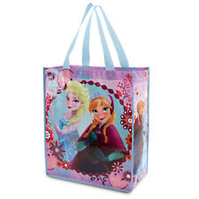 Disney Anna and Elsa Plastic Reusable Tote Frozen New with Tags