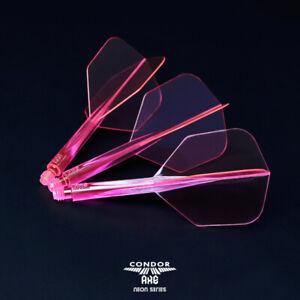 Condor Axe Neon Shaft/Flight Professional System - Pink.