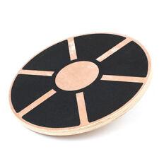 Balance Board Holz Kreisel 39,5cm Holzkreisel Wackel Brett für <150kg