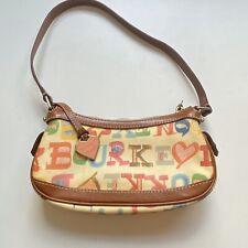 Dooney & Bourke Shoulder Bag Crayon Colorful Scribble Heart Doodle Mini Handbag