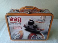 Star Wars BB8 2017 The Tin Box Company Large Carry All Tin Lunchbox