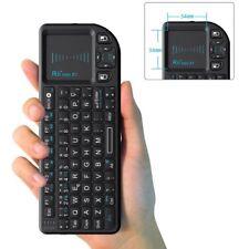 Rii Mini X1 teclado inalámbrico con ratón táctil - compatible con Smart TV, M