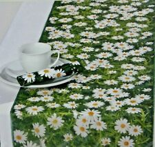 Table Runner Ideal Home Range Daisy May Translucent Cellulose Made Germany NEW