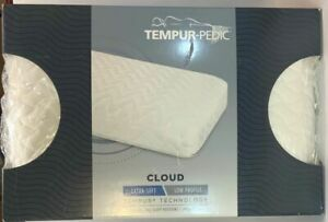 """Tempur Pillow Extra Soft - Low Profile - 23.5""""x 16""""x 5"""" Fits Queen Size"""
