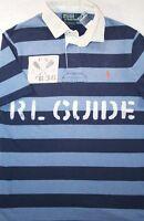 Polo Ralph Lauren Rugby Custom Fit RL Guide Kayak River Rafting Shirt S & M NWT