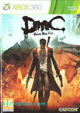 DMC Devil May Cry Microsoft Xbox 360 16+ Action Adventure Game